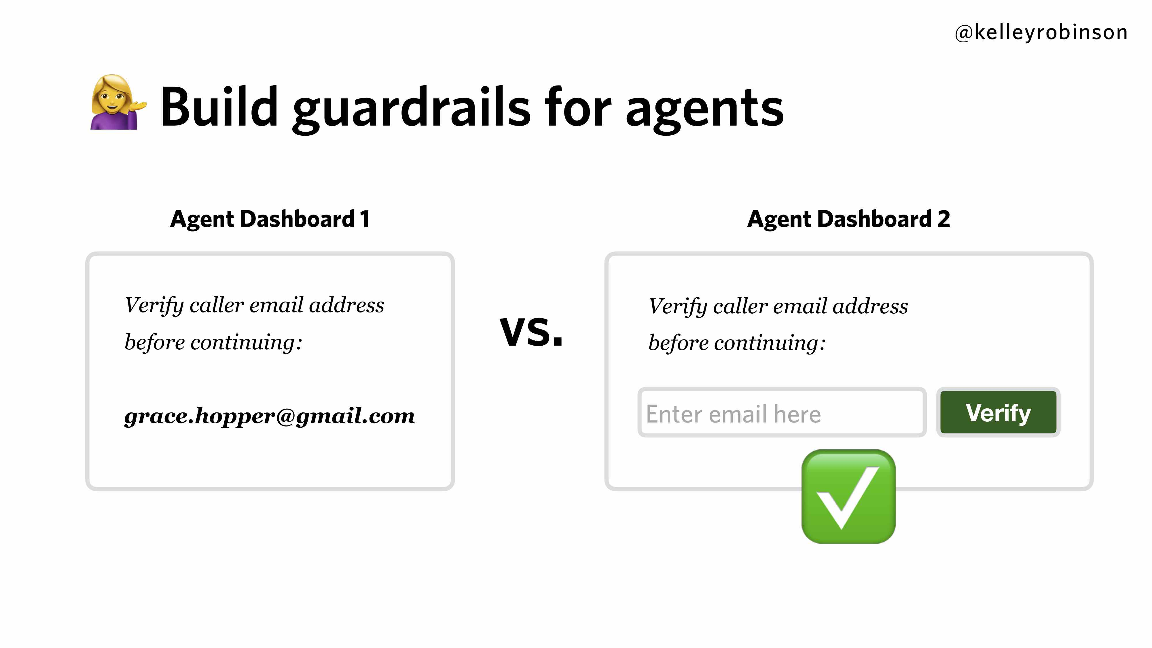 Contact Center Authentication - Guardrails