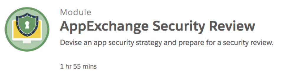 AppExchange Security Review